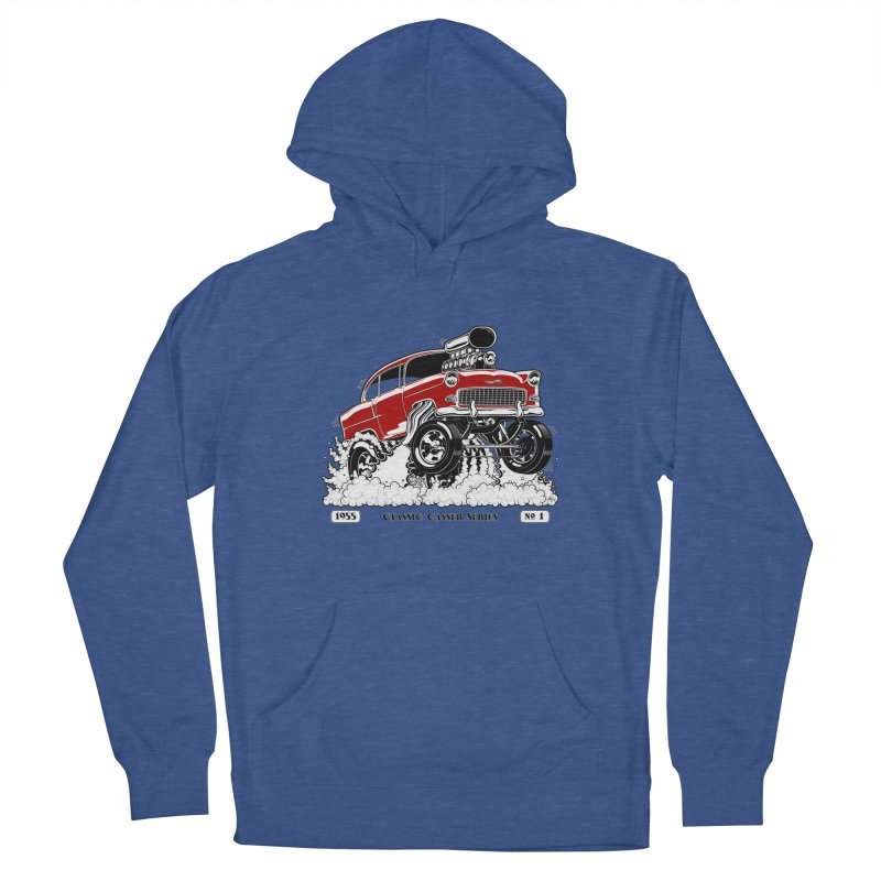 55 Classic Gasser - Clean Red Men's Pullover Hoody by screamnjimmy's Artist Shop