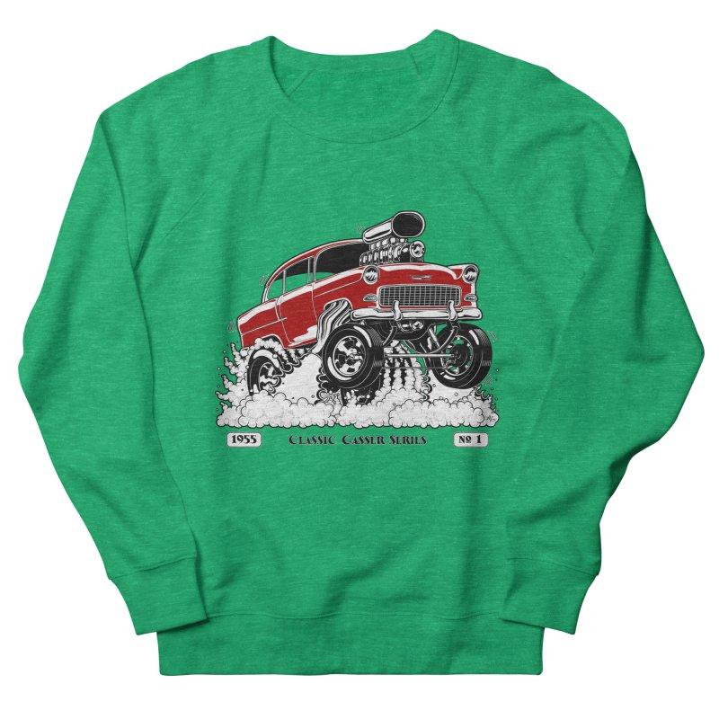 55 Classic Gasser - Clean Red Women's Sweatshirt by screamnjimmy's Artist Shop