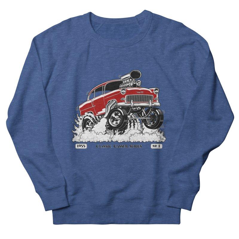 55 Classic Gasser - Clean Red Men's Sweatshirt by screamnjimmy's Artist Shop