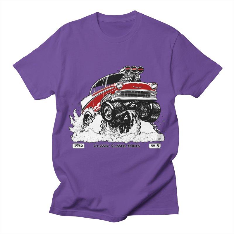 56 Classic Gasser - Clean Red Men's T-Shirt by screamnjimmy's Artist Shop