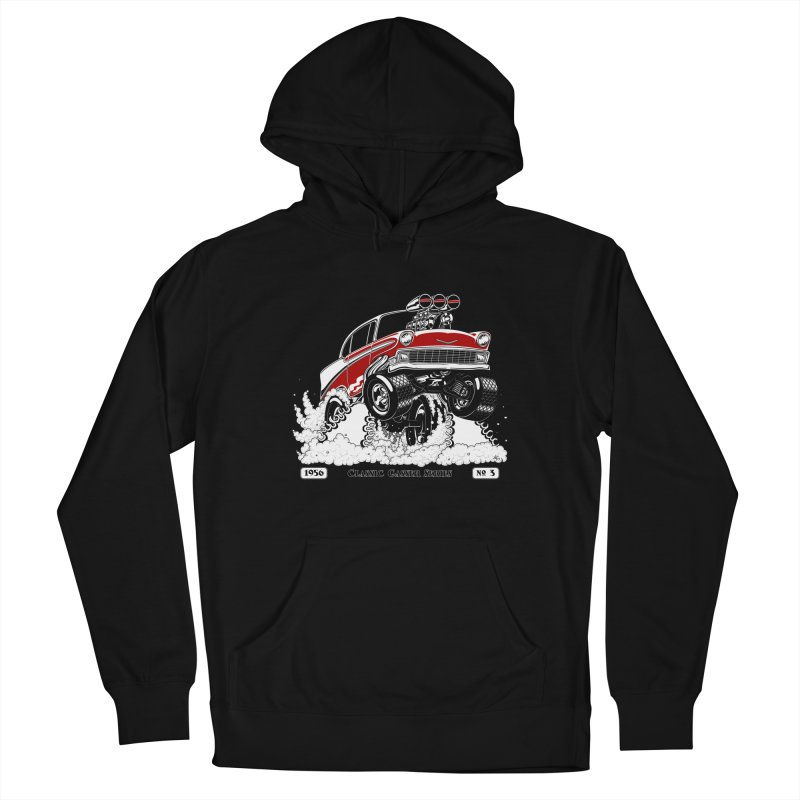 56 Classic Gasser - Clean Red Men's Pullover Hoody by screamnjimmy's Artist Shop