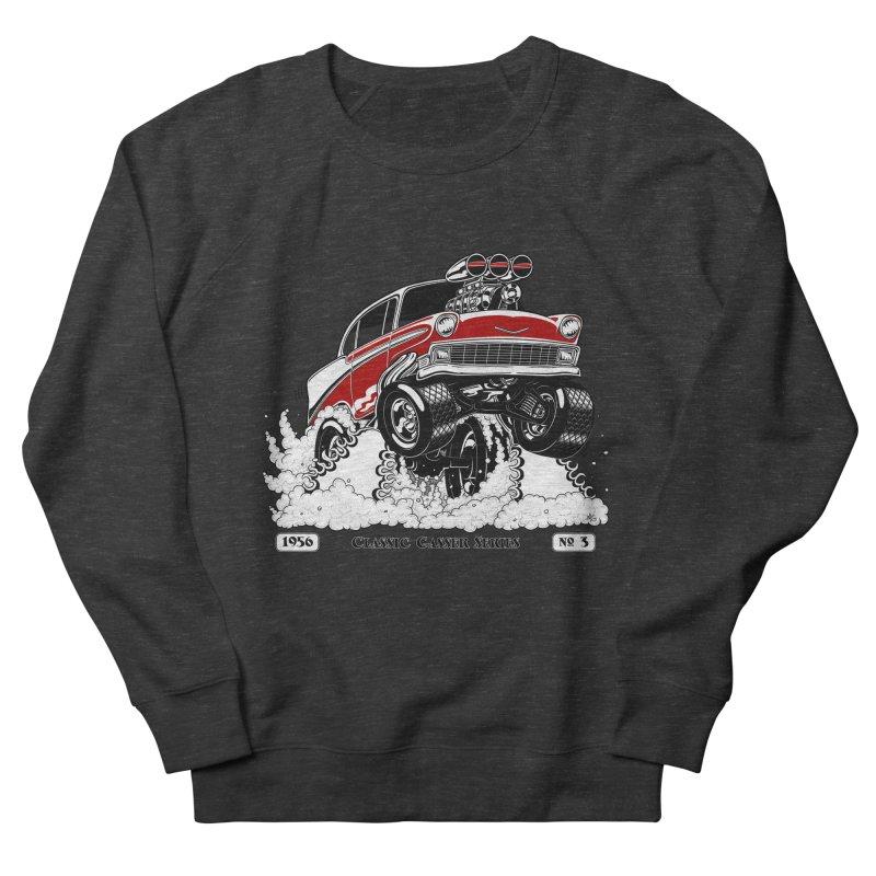 56 Classic Gasser - Clean Red Men's Sweatshirt by screamnjimmy's Artist Shop