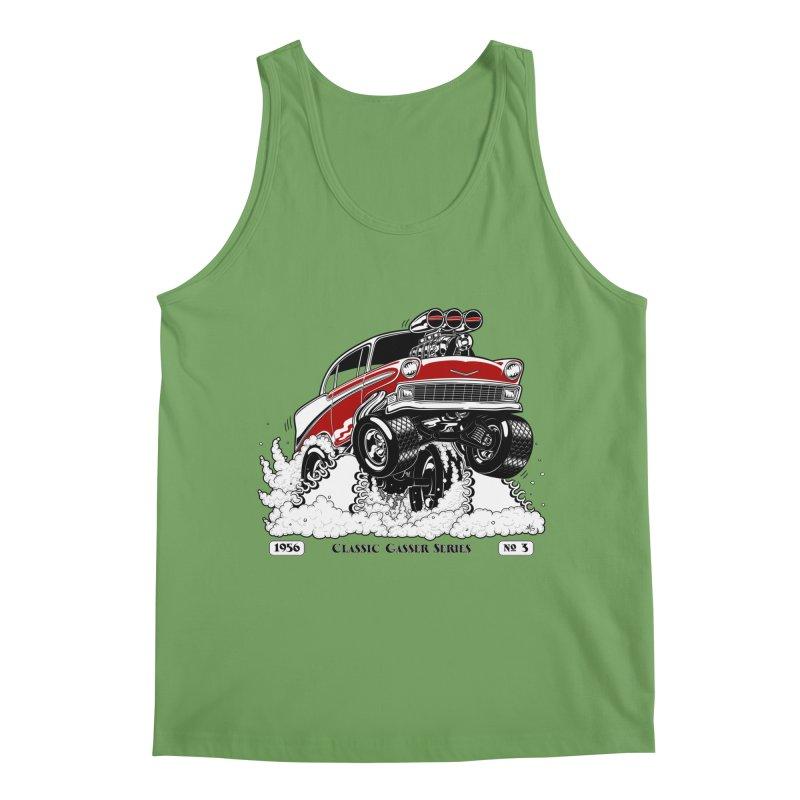 56 Classic Gasser - Clean Red Men's Tank by screamnjimmy's Artist Shop