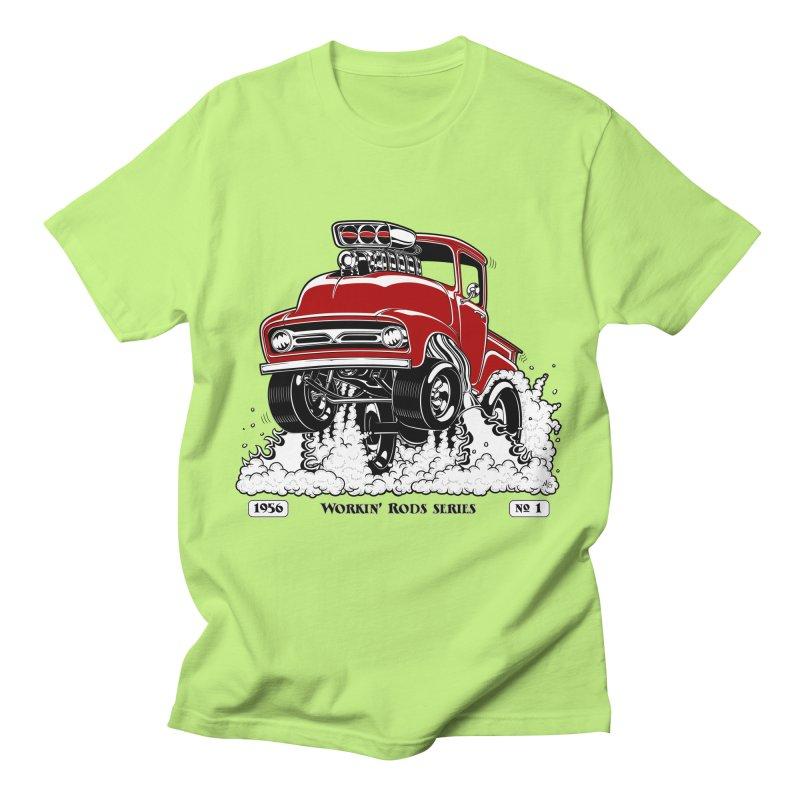 56 F100 Gasser - Clean Red Men's T-Shirt by screamnjimmy's Artist Shop