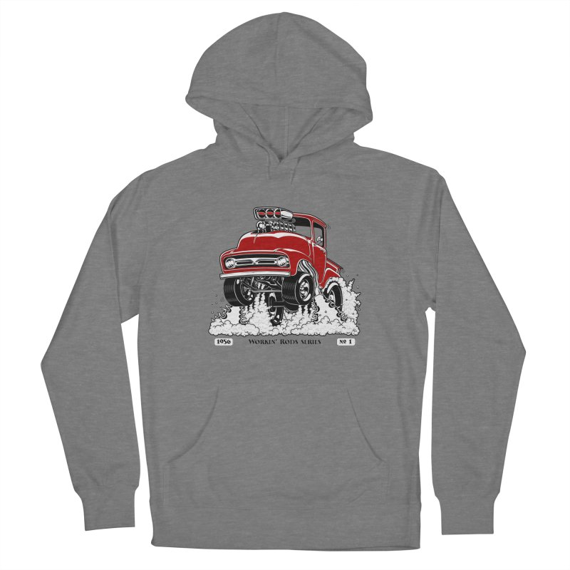 56 F100 Gasser - Clean Red Men's Pullover Hoody by screamnjimmy's Artist Shop