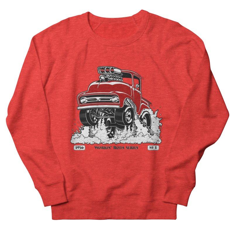 56 F100 Gasser - Clean Red Men's Sweatshirt by screamnjimmy's Artist Shop