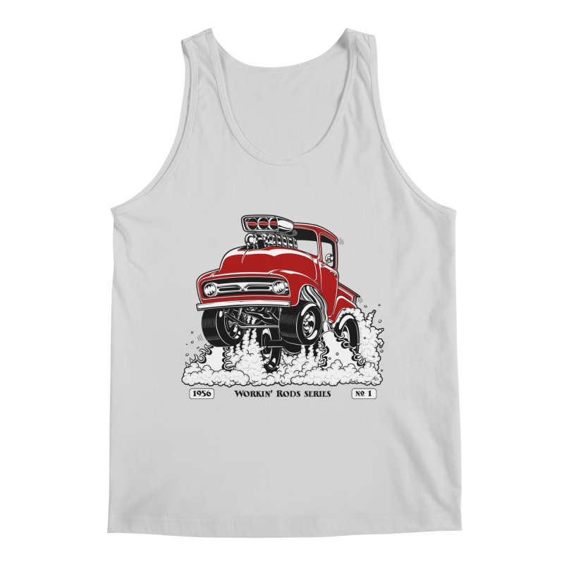 56 F100 Gasser - Clean Red Men's Tank by screamnjimmy's Artist Shop