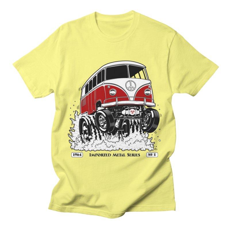 64 MicroBus Gasser - Clean Red Men's T-Shirt by screamnjimmy's Artist Shop