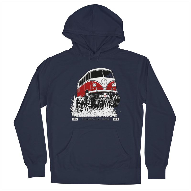 64 MicroBus Gasser - Clean Red Men's Pullover Hoody by screamnjimmy's Artist Shop