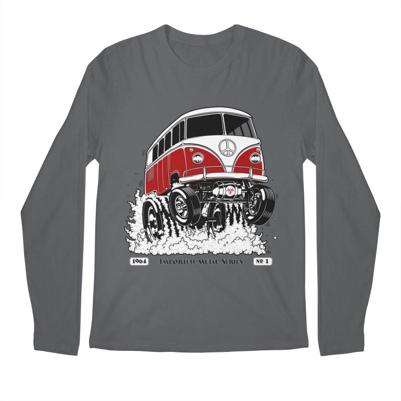 64 MicroBus Gasser - Clean Red Men's Longsleeve T-Shirt by screamnjimmy's Artist Shop