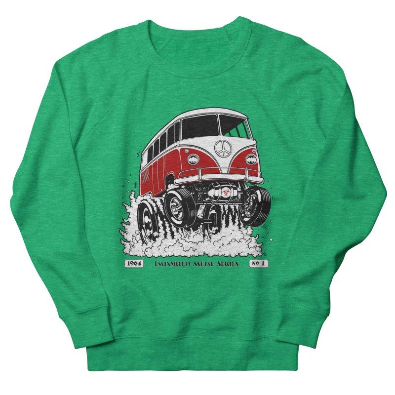64 MicroBus Gasser - Clean Red Women's Sweatshirt by screamnjimmy's Artist Shop