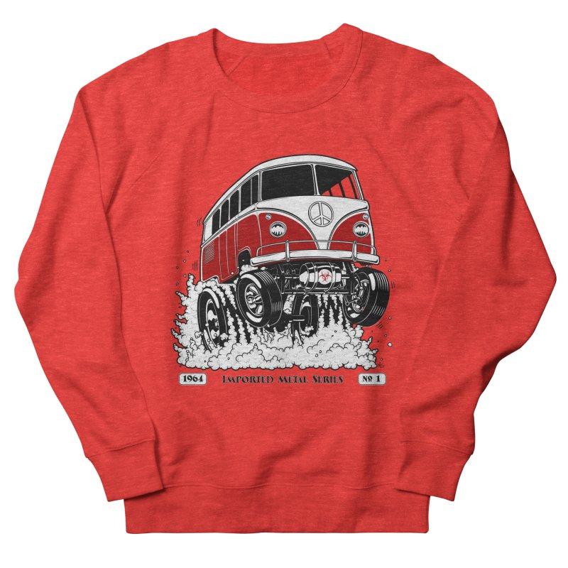 64 MicroBus Gasser - Clean Red Men's Sweatshirt by screamnjimmy's Artist Shop