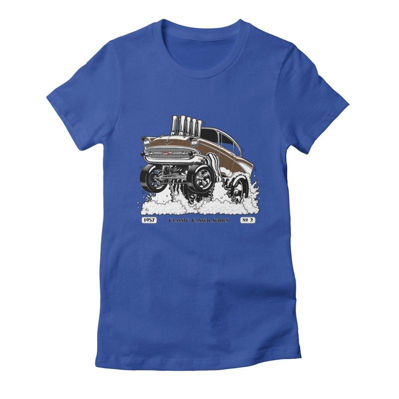57 Classic Gasser – Clean Brown Women's T-Shirt by screamnjimmy's Artist Shop