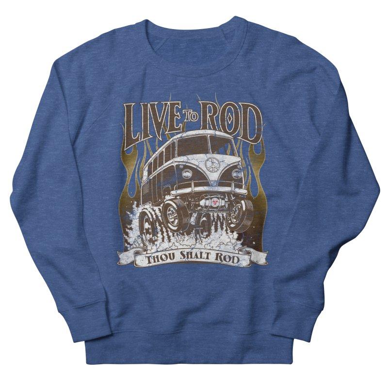 67' Microbus Gasser - Distressed brown Men's Sweatshirt by screamnjimmy's Artist Shop