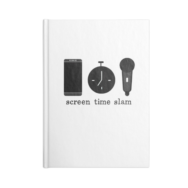 Screen Time Slam Accessories Notebook by ScreenTimeSlam's Artist Shop
