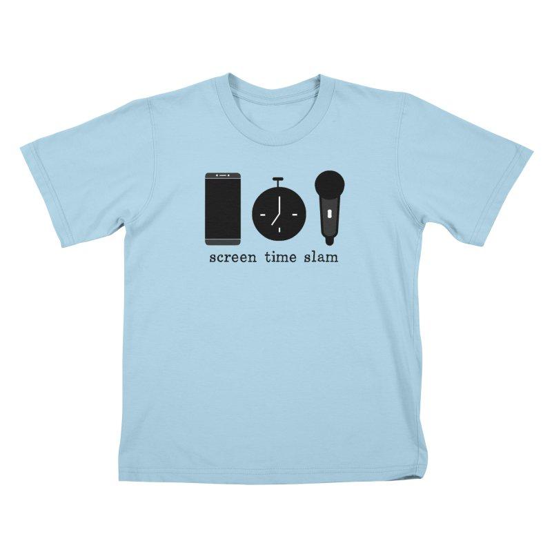 Screen Time Slam Kids T-Shirt by ScreenTimeSlam's Artist Shop