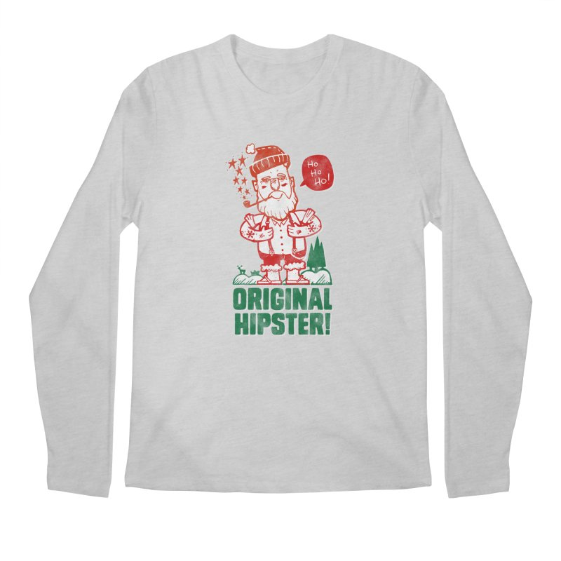 Original Hipster! Men's Longsleeve T-Shirt by scribblekid's Artist Shop