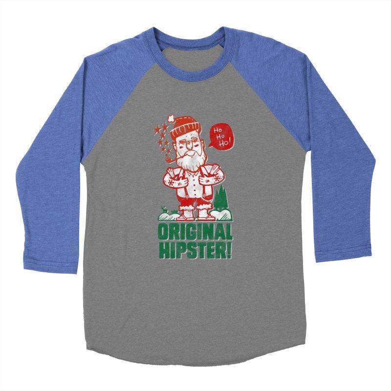 Original Hipster! Men's Baseball Triblend T-Shirt by scribblekid's Artist Shop