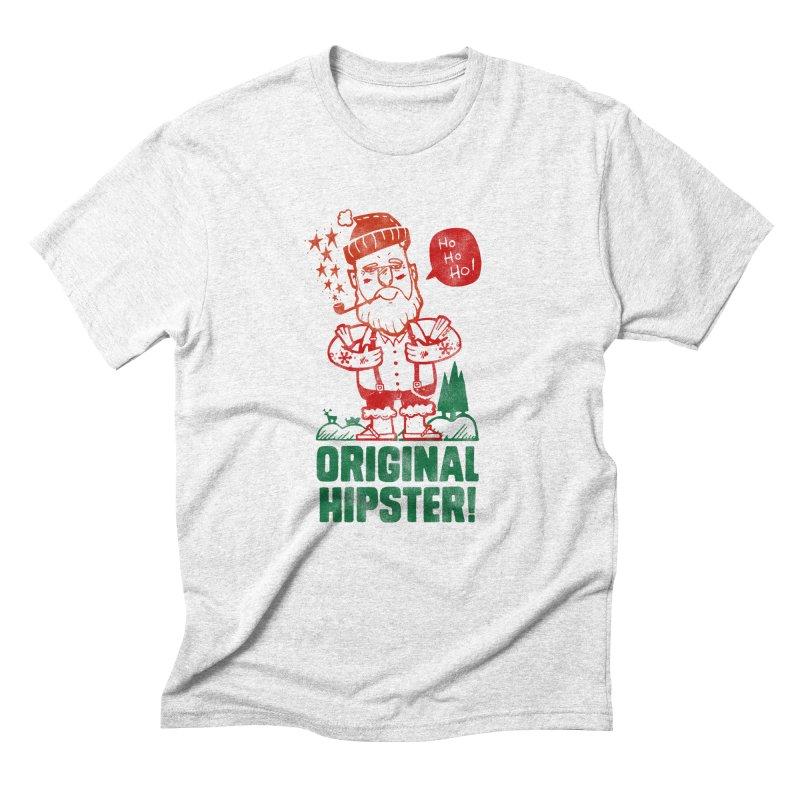 Original Hipster! Men's Triblend T-shirt by scribblekid's Artist Shop