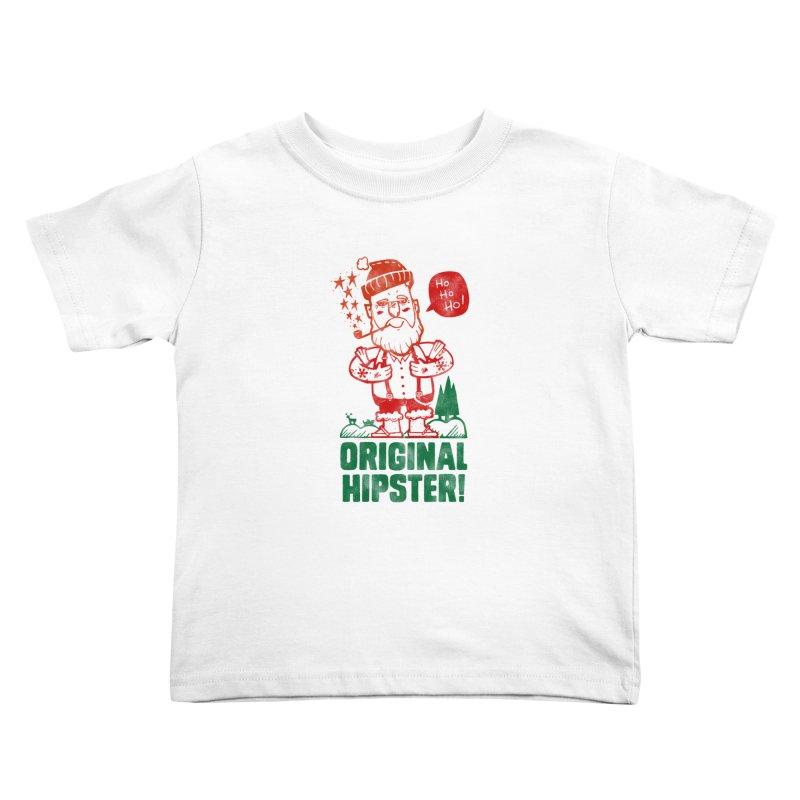 Original Hipster! Kids Toddler T-Shirt by scribblekid's Artist Shop