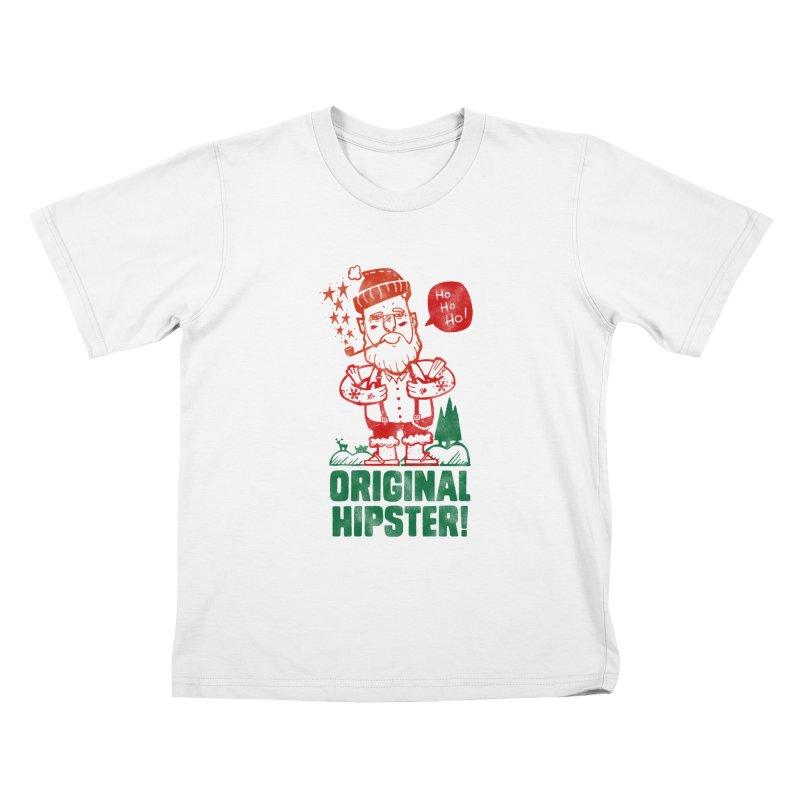 Original Hipster! Kids T-Shirt by scribblekid's Artist Shop