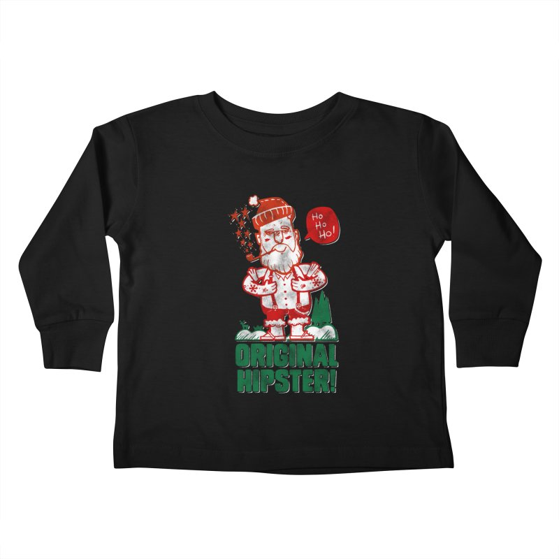 Original Hipster! Kids Toddler Longsleeve T-Shirt by scribblekid's Artist Shop