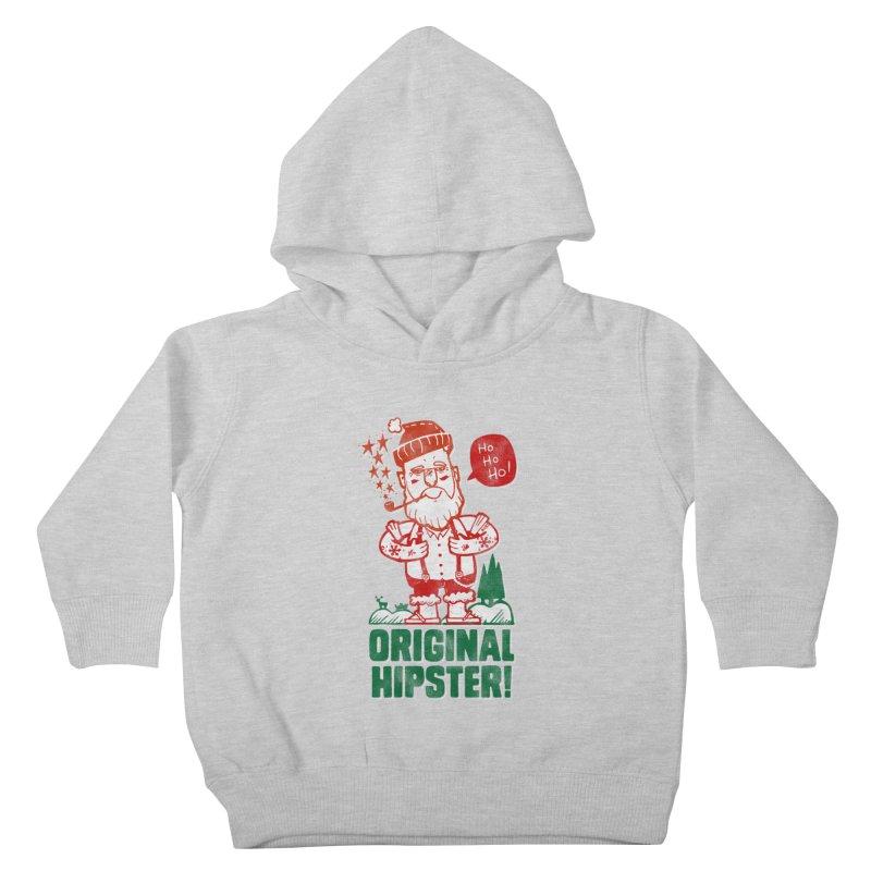 Original Hipster! Kids Toddler Pullover Hoody by scribblekid's Artist Shop