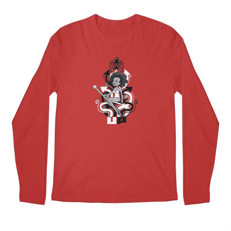 Pin Up Men's Longsleeve T-Shirt by scribblekid's Artist Shop