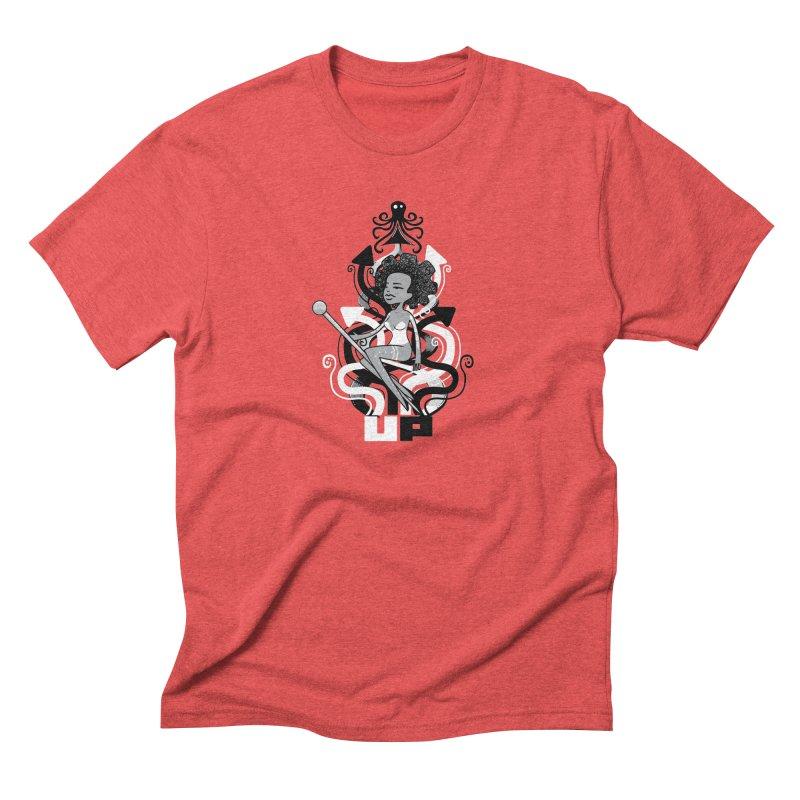 Pin Up Men's Triblend T-Shirt by scribblekid's Artist Shop