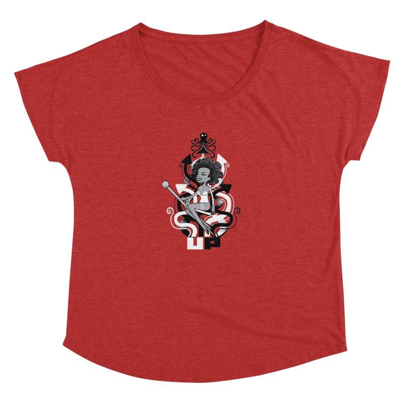 Pin Up Women's Dolman by scribblekid's Artist Shop