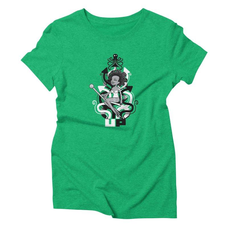 Pin Up Women's Triblend T-Shirt by scribblekid's Artist Shop
