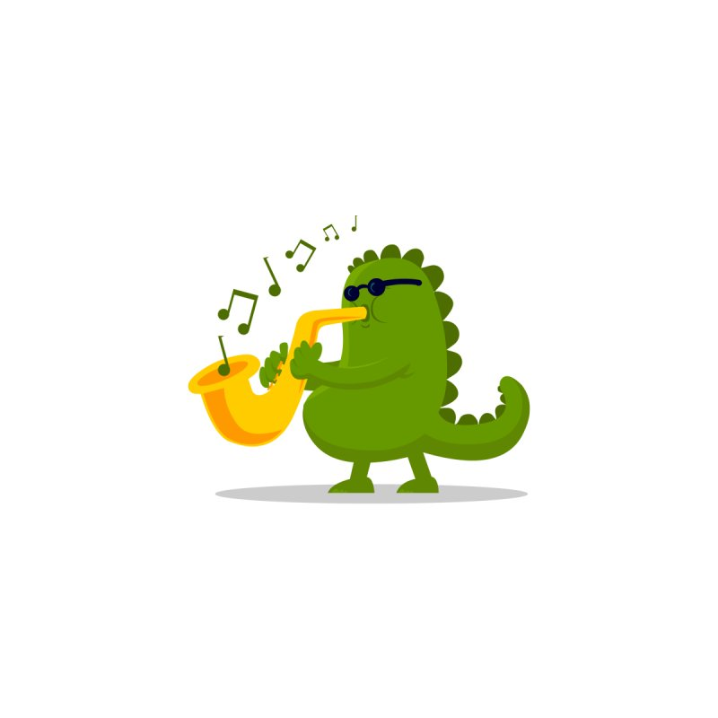 Dino Jazz by scribblekid's Artist Shop