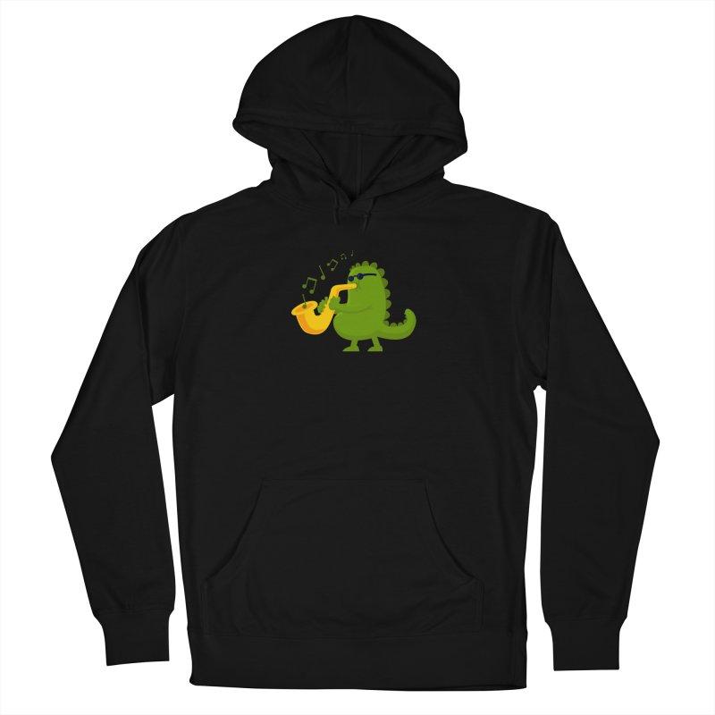 Dino Jazz Men's Pullover Hoody by scribblekid's Artist Shop