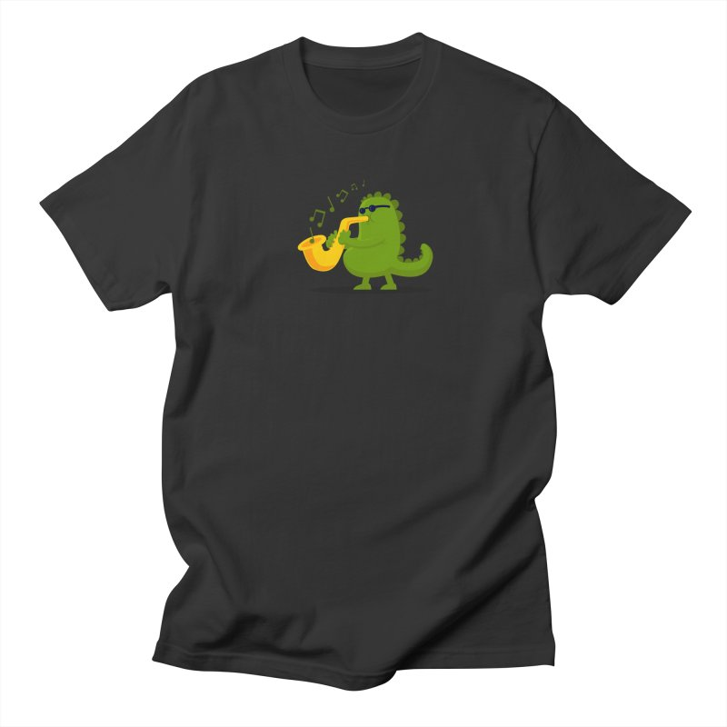 Dino Jazz Women's Unisex T-Shirt by scribblekid's Artist Shop