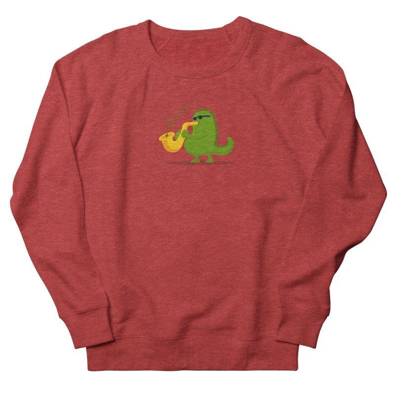 Dino Jazz Women's Sweatshirt by scribblekid's Artist Shop