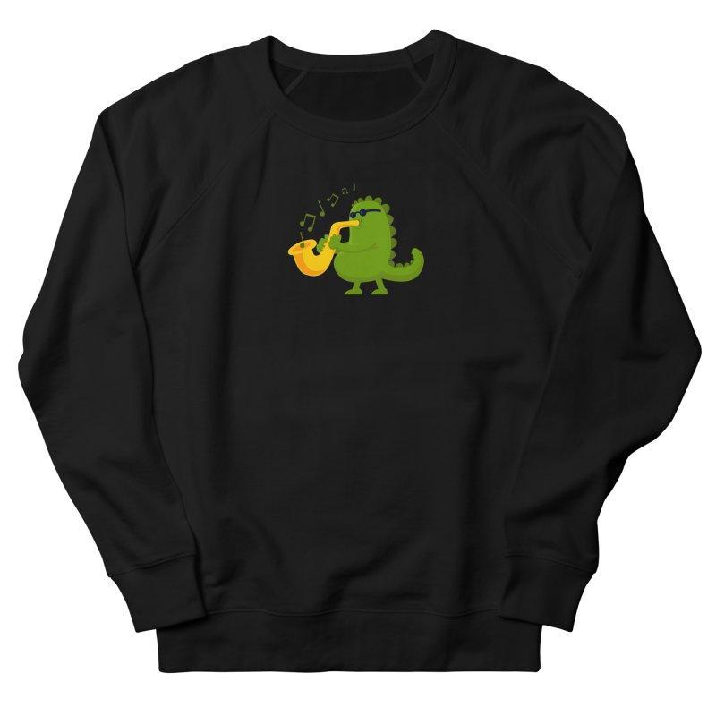 Dino Jazz Men's Sweatshirt by scribblekid's Artist Shop