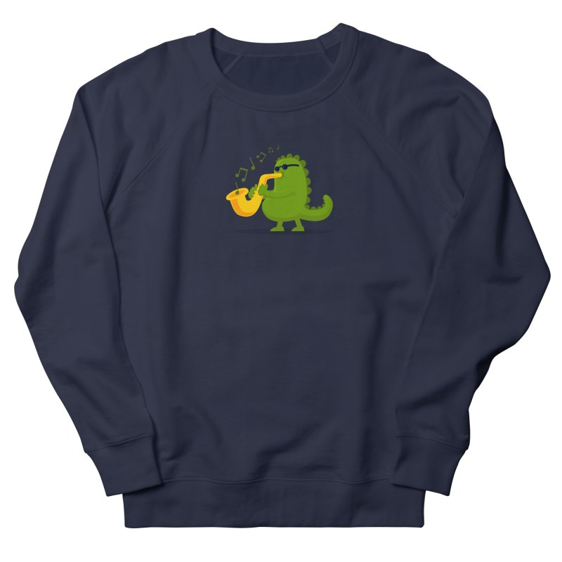 Dino Jazz Men's Sweatshirt by scribblekid's Artist Shop