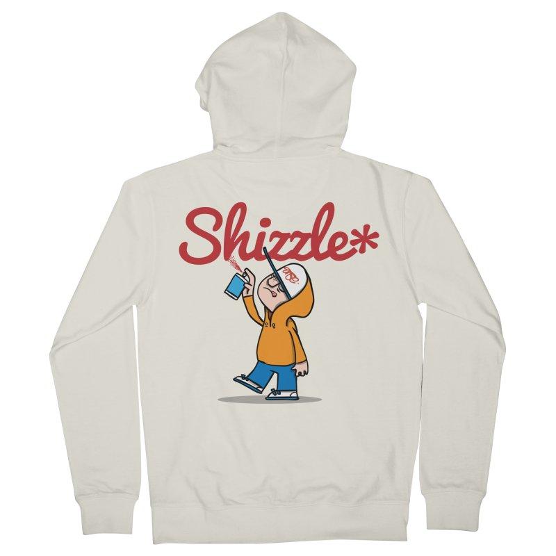 #Shizzle Press Men's Zip-Up Hoody by scribblekid's Artist Shop