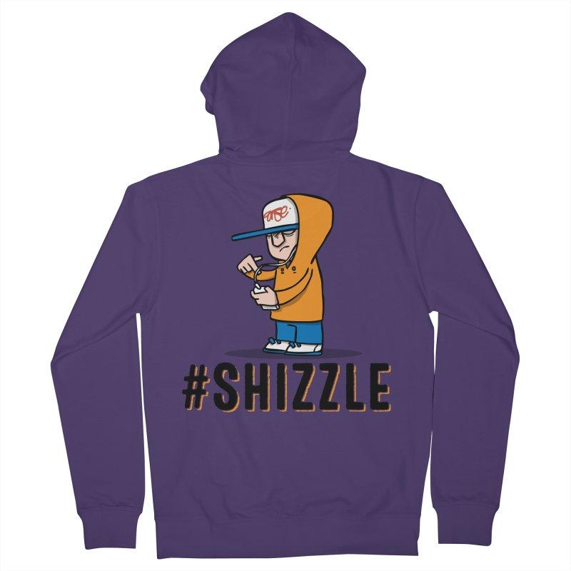 #Shizzle Press Women's Zip-Up Hoody by scribblekid's Artist Shop