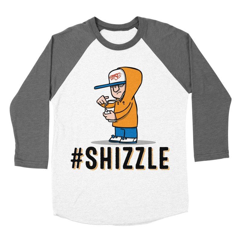 #Shizzle Press Men's Baseball Triblend T-Shirt by scribblekid's Artist Shop