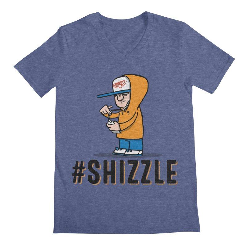 #Shizzle Press Men's V-Neck by scribblekid's Artist Shop