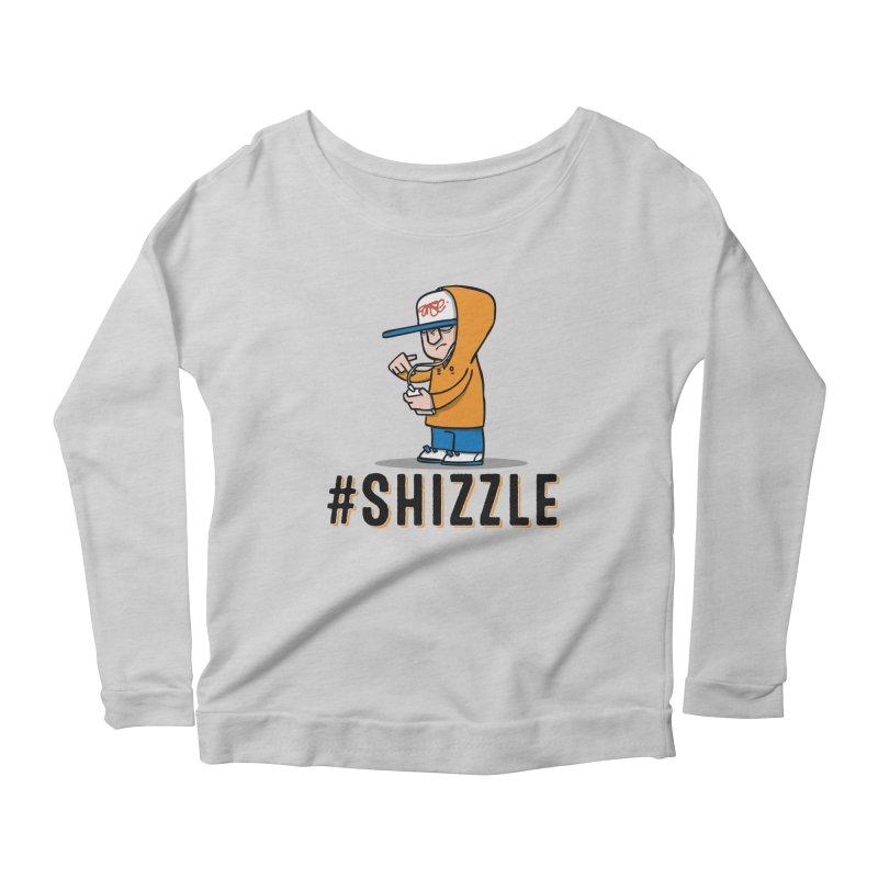 #Shizzle Press Women's Longsleeve Scoopneck  by scribblekid's Artist Shop