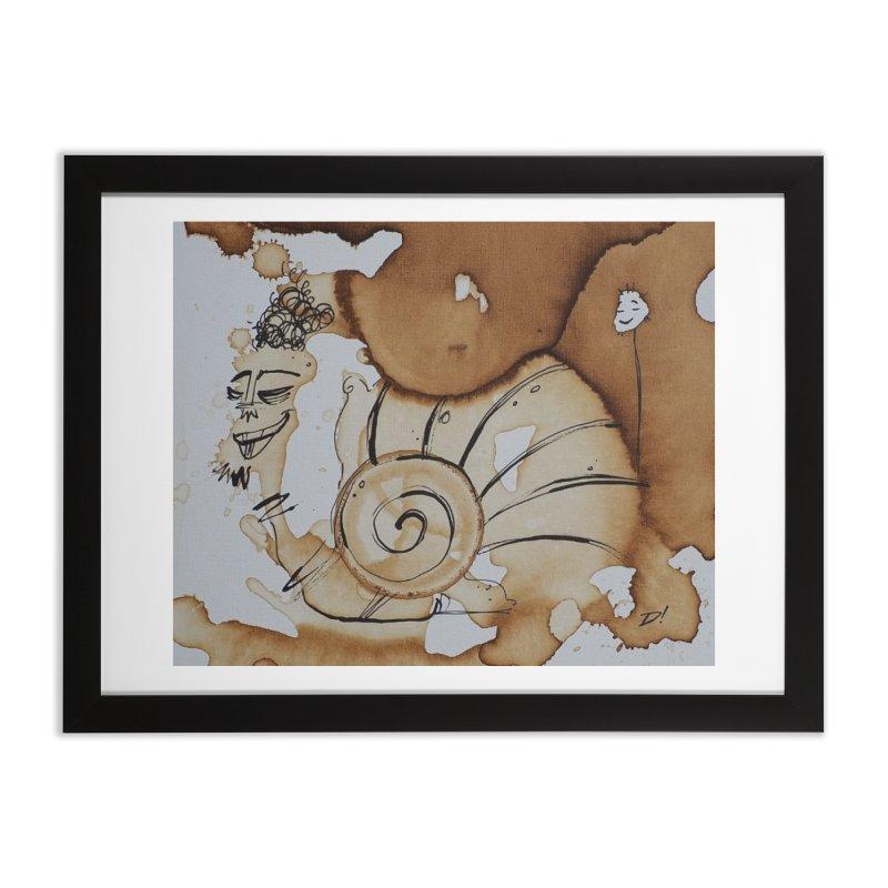 Wonder Spill Home Framed Fine Art Print by Scrib Creative's Artist Shop
