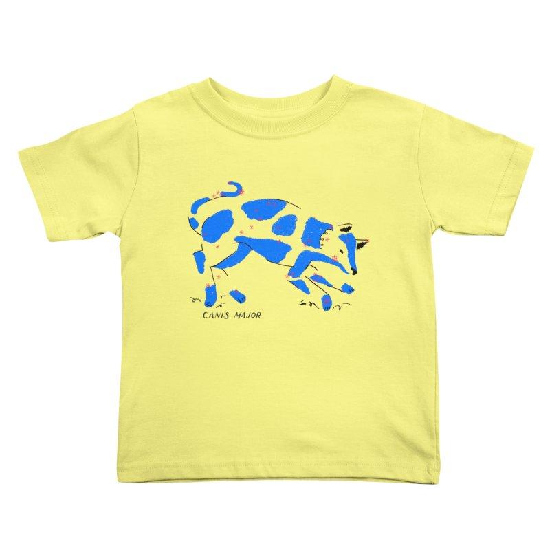 Canis Major Kids Toddler T-Shirt by scriptandseal's Artist Shop