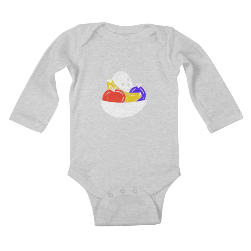 Still Life Kids Baby Longsleeve Bodysuit by scriptandseal's Artist Shop