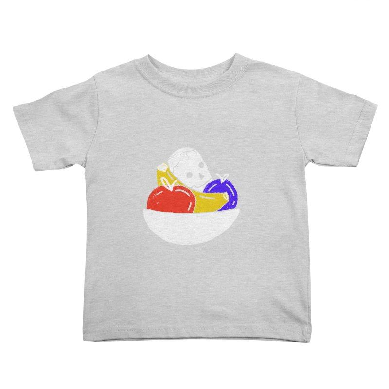 Still Life Kids Toddler T-Shirt by scriptandseal's Artist Shop
