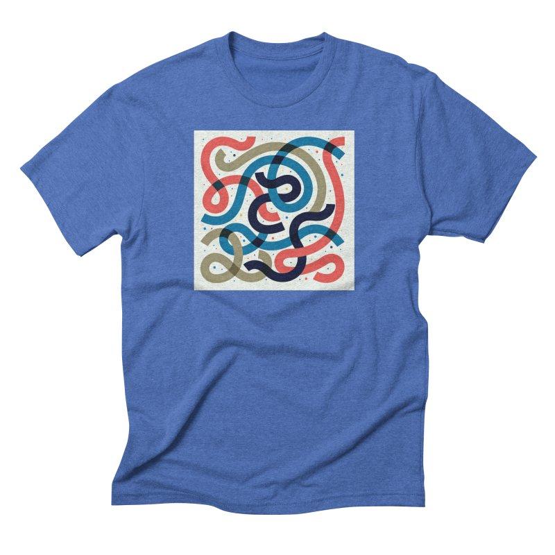 Snakes Men's Triblend T-Shirt by scriptandseal's Artist Shop