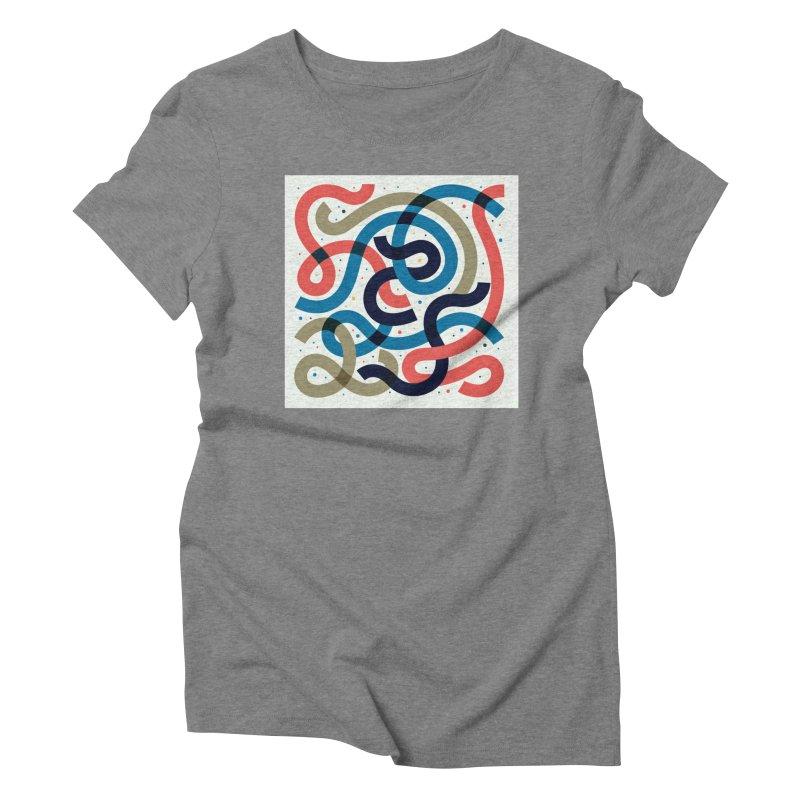 Snakes Women's Triblend T-Shirt by scriptandseal's Artist Shop