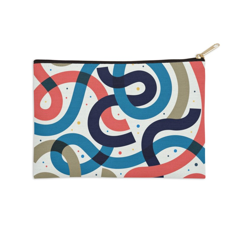 Snakes Accessories Zip Pouch by scriptandseal's Artist Shop