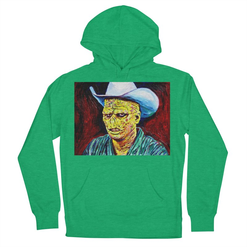 nobody Men's French Terry Pullover Hoody by paintings by Seamus Wray